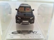 Century Dragon Land Rover Evoque 2011 Santorini Black CDLR 1001 New Range