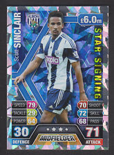 Match Attax 2013/14 - Star Signing - 339 Scott Sinclair - West Bromwich Albion