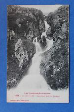 Carte postale ancienne L'HOSPITALET - Cascade du Saut du taureau