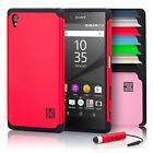 Dual-Layer Hybrid Slim Armour Shockproof Case Cover For Sony Xperia Z5