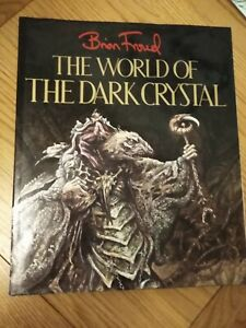 The World of the Dark Crystal by Brian Froud published in 1983, Used Condition