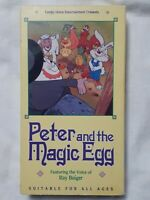 Peter and the Magic Egg (VHS 1989) RARE OOP HTF EASTER CLASSIC f.h.e. VINTAGE