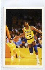 (Jh383-100) RARE,Trade Card Booster of Magic Johnson ,Basketball 1986 MINT