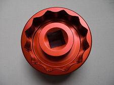 Ducati Radmutter clé 12 pans, SW 41/46, rouge, monster s2r 800, s2r 1000, 796