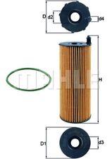 MAHLE Ölfilter OX 196/3D Filtereinsatz für AUDI C6 A6 VW PORSCHE A5 TOUAREG A4