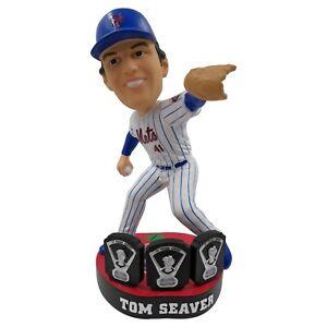 Tom Seaver New York Mets Apple Base Stadium Exclusive Bobblehead MLB