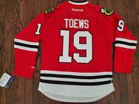 Chicago Blackhawks Reebok Jonathan Toews sz M *NWT*