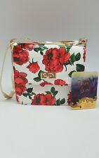 Disney Girl Beauty and the Beast Rose Print Purse Handbag Crossbody Shoulder Bag