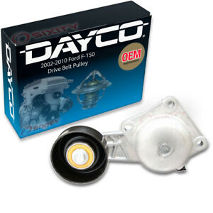 Dayco Drive Belt Tensioner Assembly for 2002-2010 Ford F-150 4.6L 5.4L V8 lh