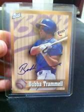 1998 Best Autograph #NNO Bubba Trammell Jacksonville Suns AUTO BASEBALL CARD!!!!