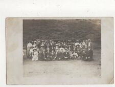 Edwardian  Group Outing Vintage RP Postcard 645a
