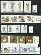 Albania 1989-90 unmounted mint run many thematic sets or sheets  (2017/05/25#22)