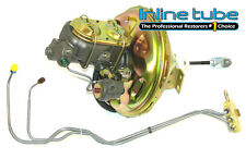 68-69 A-body Front Power Disc Brake Conversion Upper Delco Booster Valve Lines
