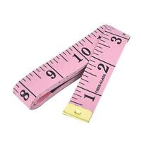 BODY MEASURING RULER SEWING CLOTH TAILOR TAPE MEASURE SOFT FLAT 60IN 150CM M7R3