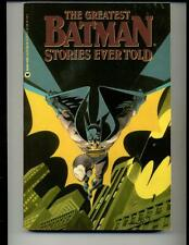The Greatest Batman Stories Ever Told     1988    Warner Books
