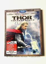 Hemsworth Marvel Thor 2 The Dark World Blu-ray 2D 3D Digital Copy No Slipcover