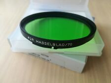 B+W for Hasselblad B70mm  green filter filtre verde