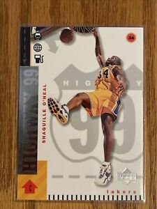 "1998 Upper Deck, Shaquille O'Neal ""Highway 99"" Los Angeles Lakers, HOF"