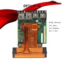 for Dell 0P71JP Intel X540 I350 Quad Port x2 10Gbx2 1Gb RJ-45 Network Daughter