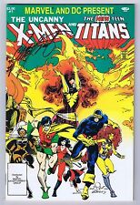 X-Men and Titans Signed by Chris Claremont w/COA  Marvel & DC Comics 1982 VFNM