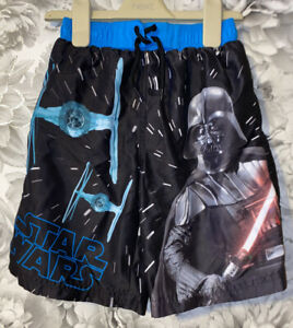 Boys Age 6-7 Years - Star Wars Swimming Shorts