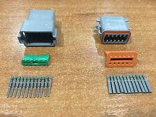 Deutsch DT 12-Way 12 Pin Electrical Connector Plug Kit