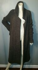 Large White + Warren Alpaca/Wool Blend Long Thick Chunky Sweater Coat