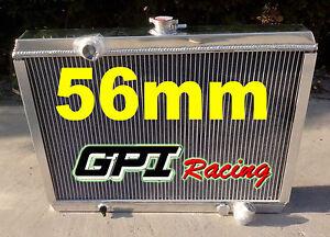FOR Mitsubishi Starion 2.0 Turbo Manual 1983-1989 1988 1987 Aluminum radiator