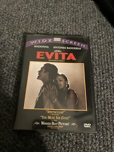 Evita (DVD, 1998, Widescreen Spanish)