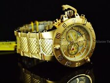 Invicta Men's 50mm Subaqua Noma III Swiss Chronograph 18KGIP SS Bracelet Watch