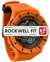 NEW IN BOX MENS Rockwell COLISEUM FIT Wrist Watch ORANGE / BLACK RCP-114 LIMITED