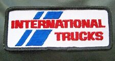 "INTERNATIONAL TRUCKS EMBROIDERED SEW ON PATCH NAVISTAR ADVERTISING 4 7/8"" x 2"""