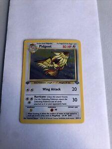 Pokemon Pidgeot 1st Edition Jungle set Holographic Rare WOTC LP