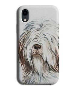Old English Sheepdog Phone Case Cover Dog Pet Oil Painting Art Work Artwork K571