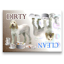 ITALIAN SPINONE Clean Dirty DISHWASHER MAGNET No 1 New