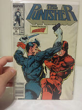 The Punisher #10 1988 Marvel Guest Starring Daredevil