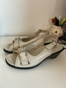 Hotter Leather Sandals Size 6 New