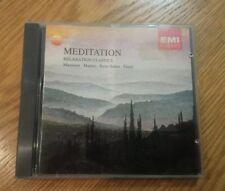 Meditation Relaxation Classics, Massenet, Mahler, Saint-Saens, Faure VGC