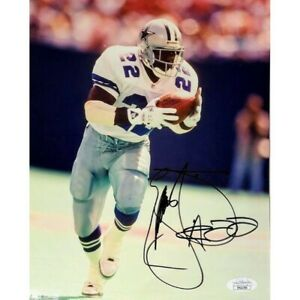 Emmitt Smith Signed Photo Dallas Cowboys Signed JSA Certified Autograph NFL