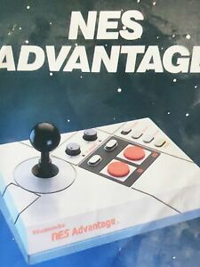 1987 NES ADVANTAGE Controller Manual - MANUAL ONLY VTG
