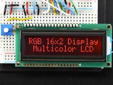 Adafruit RGB backlight negative LCD 16x2 + extras [ADA399]