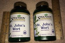 TWO, St. John's Wort, from Swanson      240 capsules (total),   375 mg each