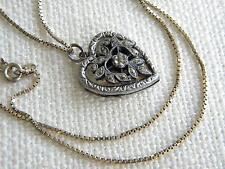 Silver Necklace/Choker Vintage Fine Jewellery (1950s)