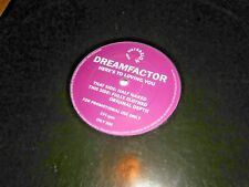 "Dreamfactor ‎– Here's To Loving You [Promo 12"" Single]"