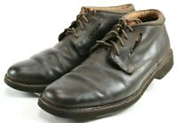 Clarks UnStructured Men's $120 Casual Lace-Up Boots Size 11 Leather Brown