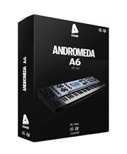 ANDROMEDA A6 Synthesizer SONY MAGIX REAPER KONTAKT CUBASE STUDIO ONE analog