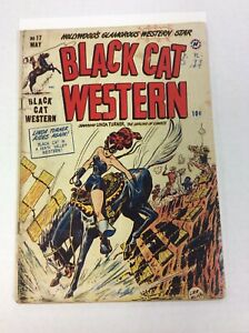 Black Cat Western - No. 17 May 1949 - Linda Turner The darling of comics