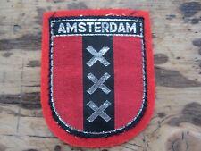 Vintage c1960s Unused AMSTERDAM Patch/Badge
