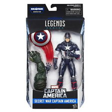 Marvel 6-Inch Legends Series Secret War Captain America Action Figure