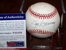 JUM BUNNING (Philadelphia Phillies) signed baseball w/ PSA COA